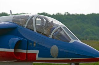 Alpha Jet from the Patrouille de France