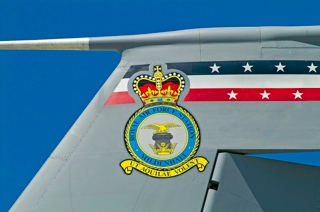 Badge of Royal Air Force Station Mildenhall