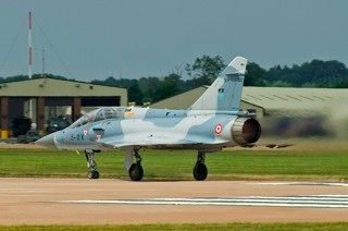 Mirage 2000B, 509 / 5-OK, EC.02.005 in take off with full afterburner