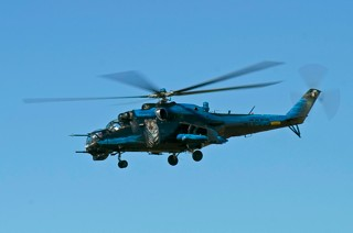 Mil Mi-24V Hind, 7353, 23.zVrL / 231.vrl in flight