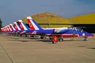 Patrouille de France tail lines
