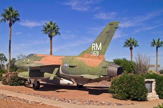 Davis Monthan AFB gate-guards: F-105D-20RE, 61-0159 / RM