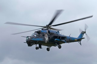 Mil Mi-24V Hind, 7353, 22.zL / 221.lbvr with special Tiger color scheme of the Czech Republic Air Force